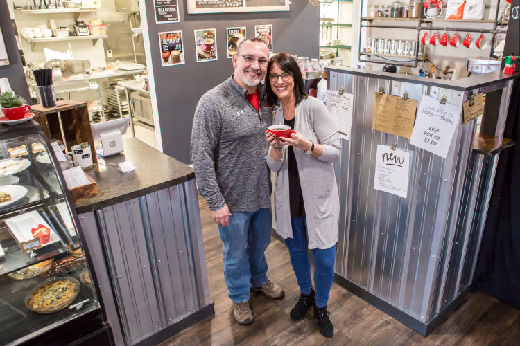 Crimson House Café's Jeff and Heidi Reed are missionaries-turned-business owners.