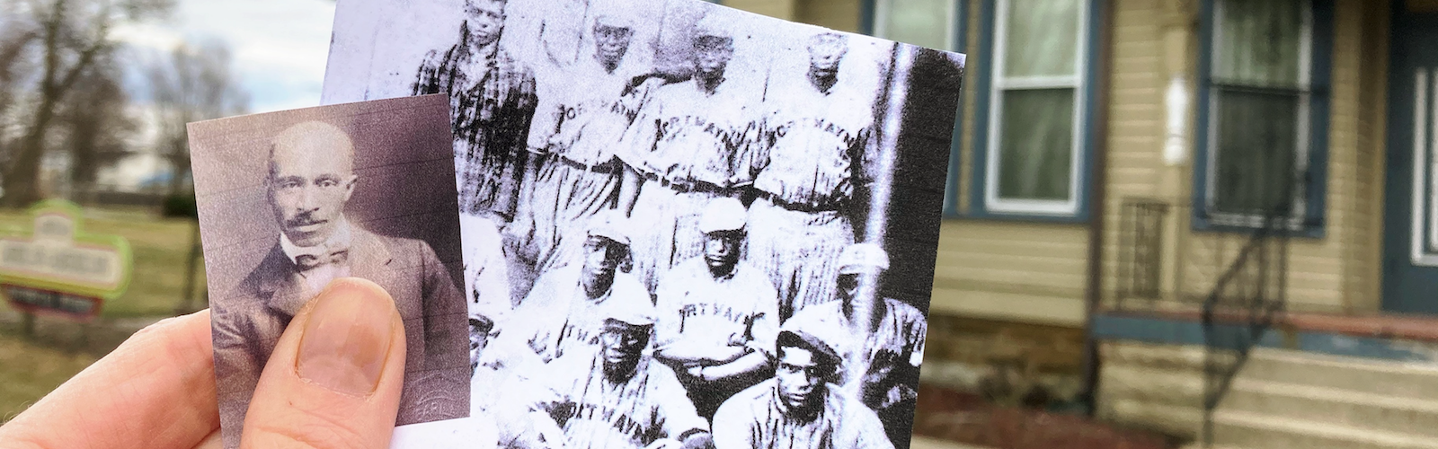 William E. Warfield and the Fort Wayne Colored Giants are history-makers in Fort Wayne.