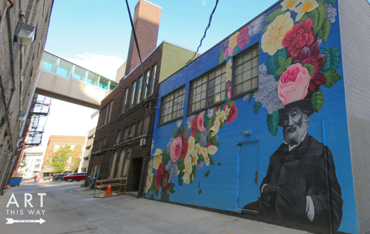 Art This Way has been bringing street art to downtown Fort Wayne's alleys since 2017.