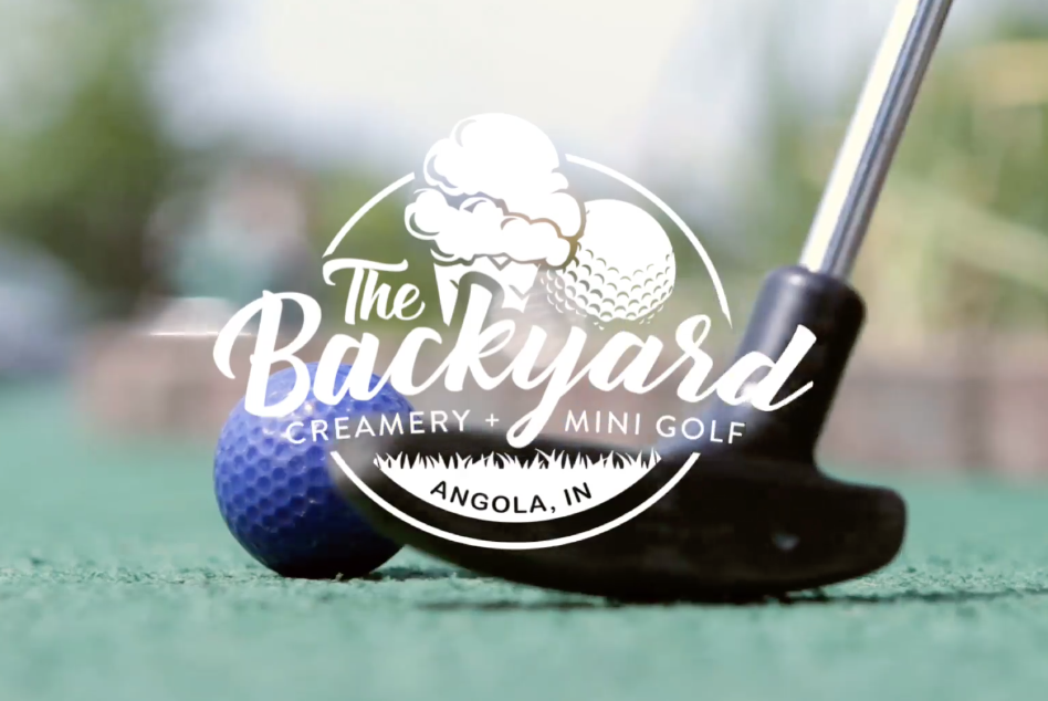 The Backyard Creamery and Miniature Golf is bringing year-round entertainment to Angola.