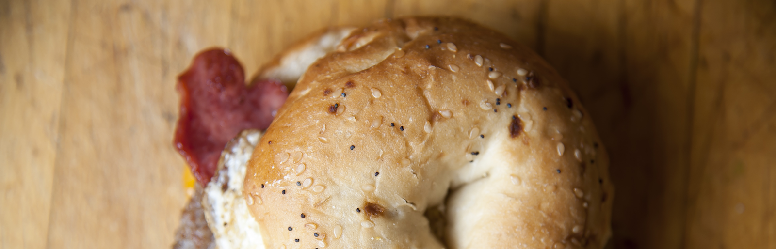 Davey's Delicious Bagels & Deli serves steamed bagel sandwiches and homemade soups.