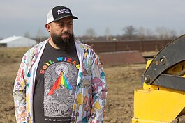 Brett Bloom is a Fort Wayne artist and activist, as well as the creator of Dirt Wain community-scale composting.