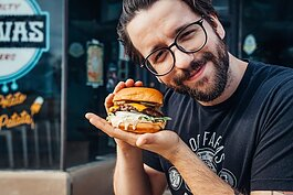 Bo Gonzalez is the founder of Bravas, a thriving burger and hot dog spot in the 46807.