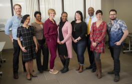 Nine of Fort Wayne's Build course facilitators.