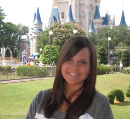 Cait McEntee used to work at the Magic Kingdom in Walt Disney World.