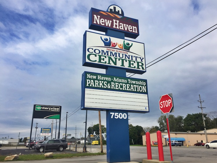 The New Haven Community Center has become a center of local life since it opened in 2017.