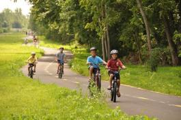 Fort Wayne's trails see more than 60,000 visitors a month during the summer.