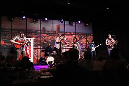 The Debutants perform live at the Club Room recently.