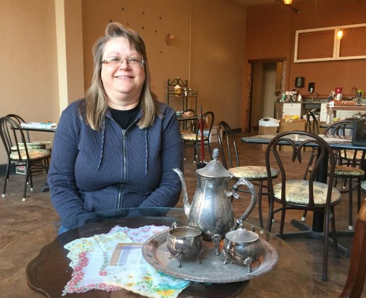 As the owner of CS3, Donna Kessler is opening a new organic deli and tea shop across the street.