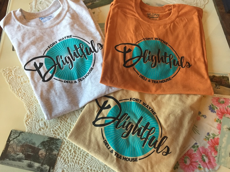 Delightfuls t-shirts are available in the shop at 1932 S. Calhoun St.
