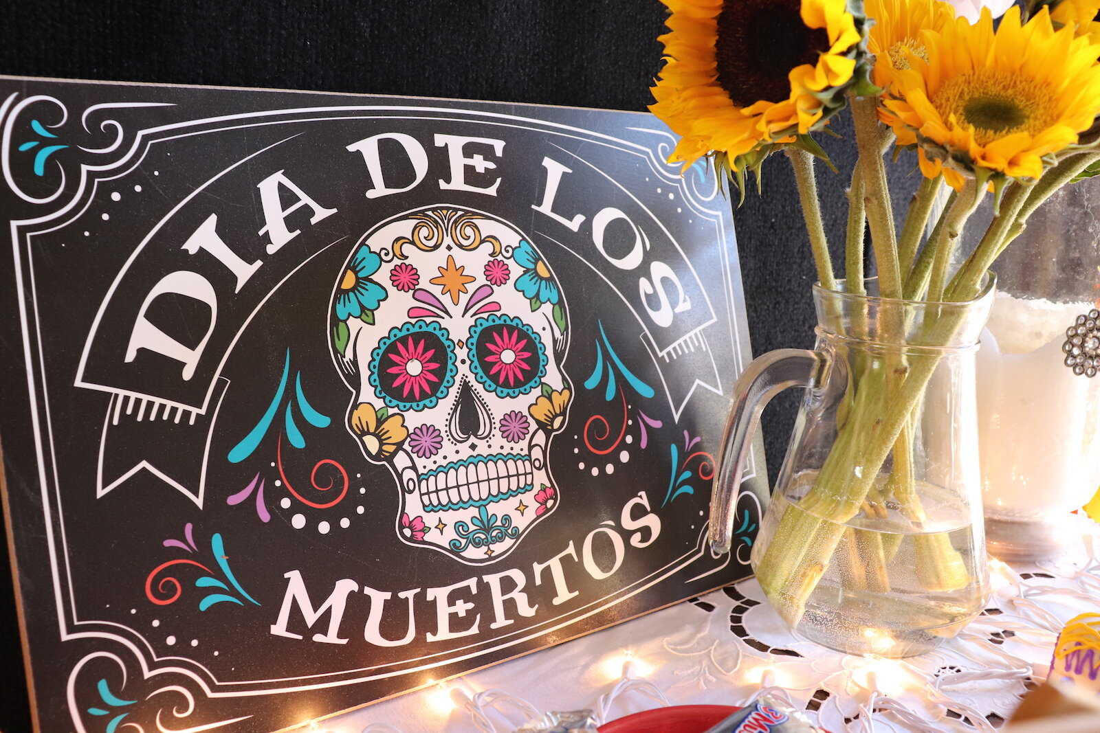 Día de los Muertos (Day of the Dead), is a multi-day celebration for lost loved ones, in which families create home altars to honor and remember their dead relatives.