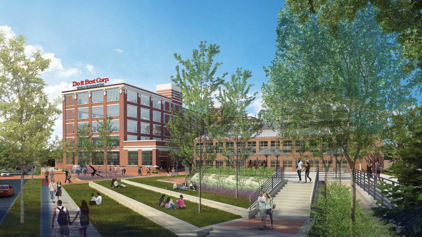 Do it Best is the largest privately held company in Indiana and the future anchor tenant of the Electric Works campus.