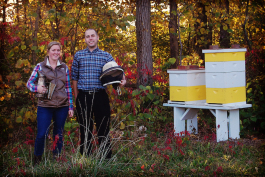 Southwest Honey Co. co-founders Megan Ryan and Alex Cornwell
