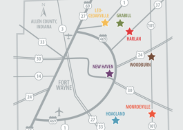 There are seven communities in the NewAllen Alliance of East Allen County.