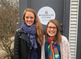 Kylee Hays, left, and Leitia (Lay-shuh) McHugh, right, are two entrepreneurs investing in the '05 neighborhood.