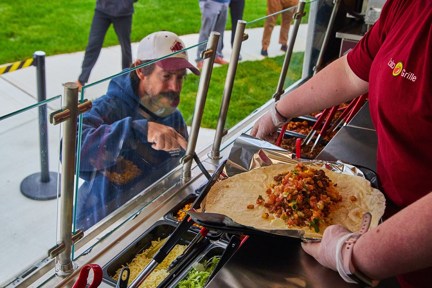 The Salsa Grille food truck serves made-to-order nachos, burritos, bowls, tacos, and more.