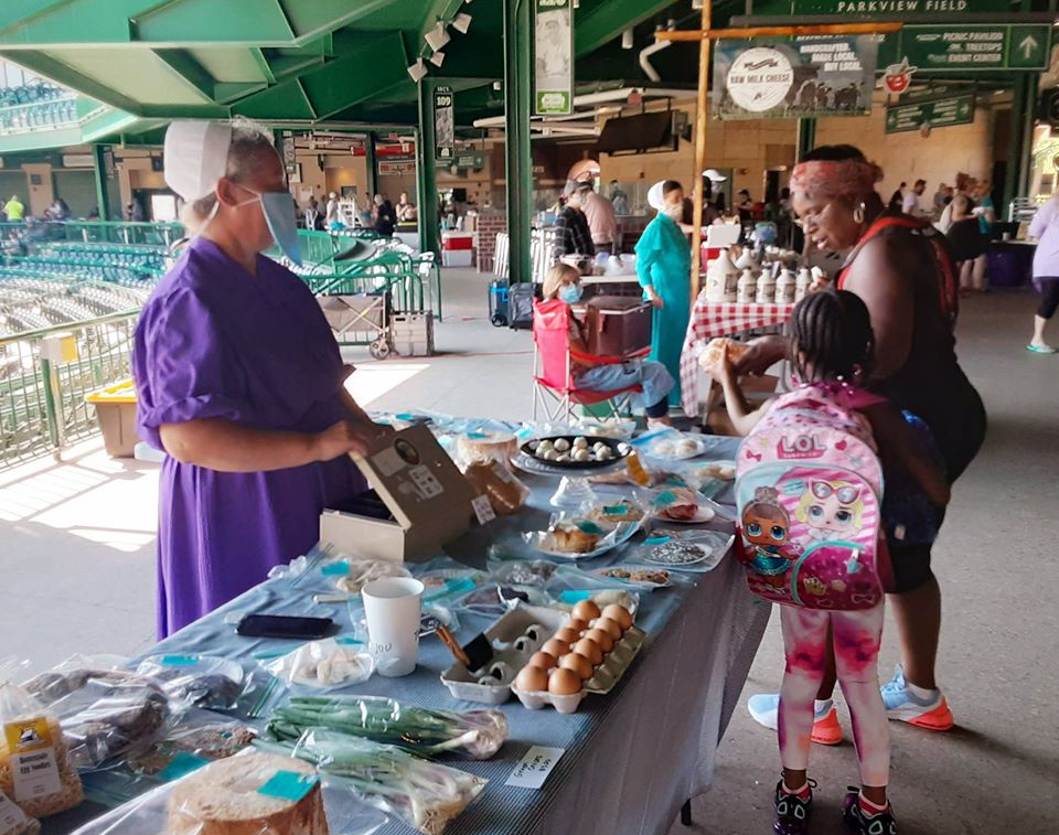 Ft. Wayne's Farmers Market is one of several local markets still open during COVID-19.