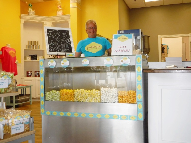 Gary Hively is the owner of Poptique Gourmet Popcorn.