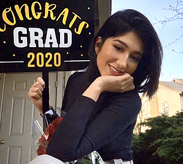 Mariam Nasraddin, an international student from Saudi Arabia, is a recent graduate from Indiana Tech's communication program.