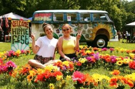 Hippie Fest is a traveling festival that comes to Angola in the fall.