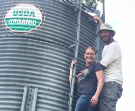 Natalie and Ben Hoffman Certified Organics