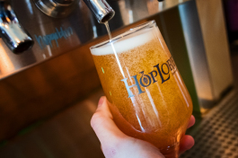 HopLore Brewing offers locally inspired and brewed beers.