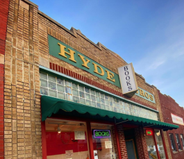 Hyde Brothers Booksellers is located at 1428 Wells Street just a few blocks north of Promenade Park.