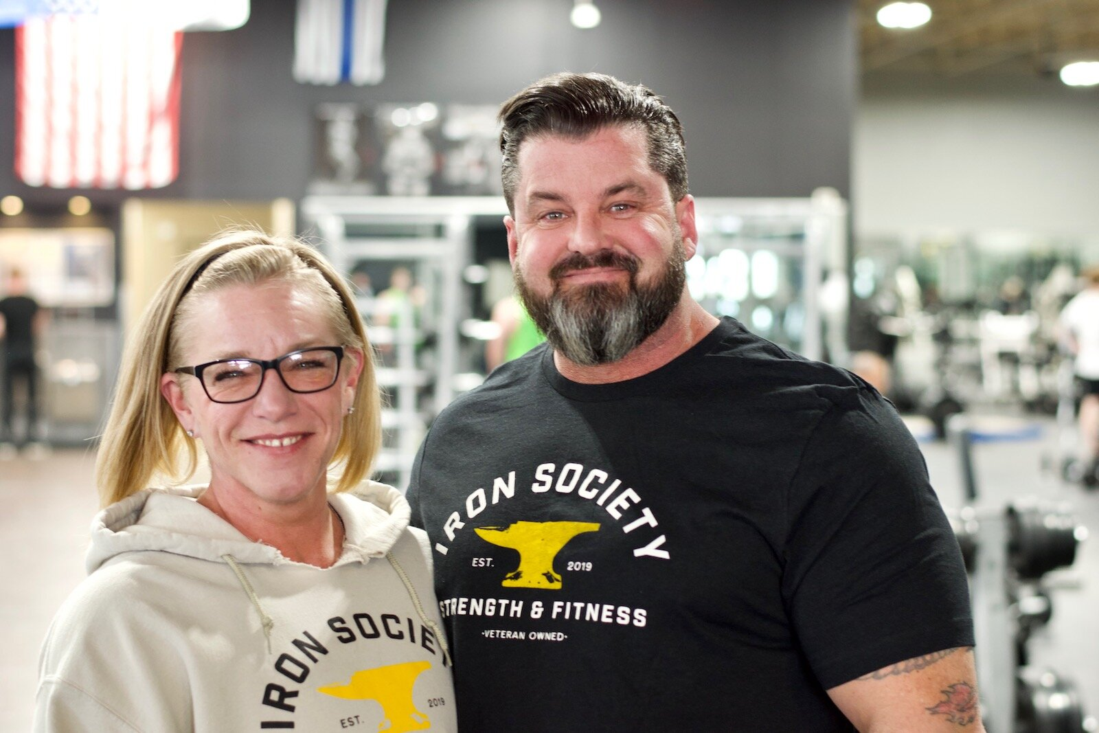 Lonnie and Niki Whitlock are the Owners of Iron Society Strength & Fitness with two locations in Fort Wayne.