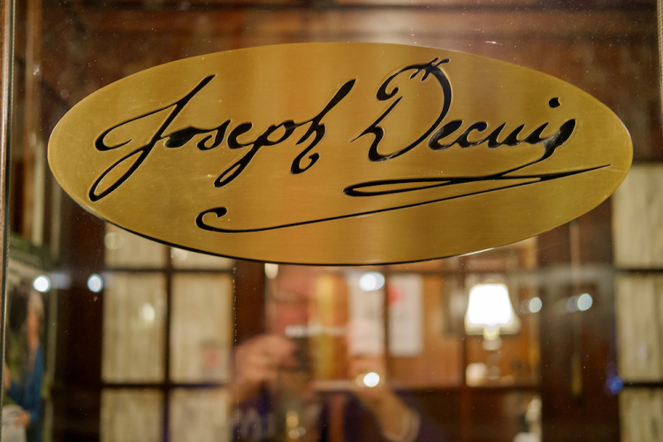 Joseph Decuis is named after the family's Louisiana ancestor whom they credit with their longstanding tradition of farm-to-fork dining.