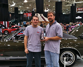 Kendall Riecken, left, owns Kendall Performance & Repair.