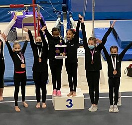 Lake City Gymnastics offers confidence-building classes for girls and boys alike.