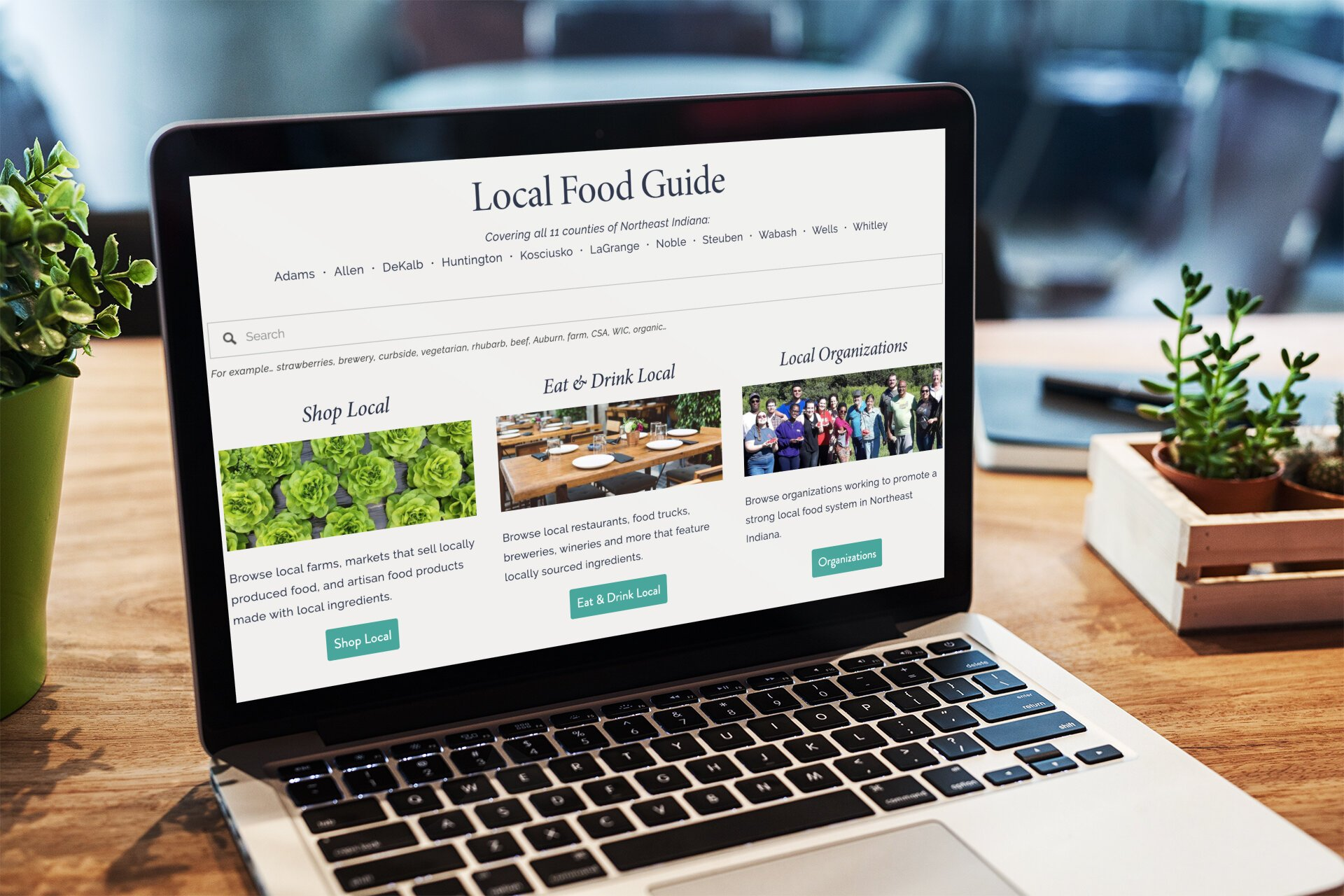 The Northeast Indiana Local Food Network launched a searchable Local Food Guide this week intended to serve farmers, producers, and consumers alike.