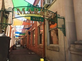 The revitalized Market Way alley advances downtown Wabash.