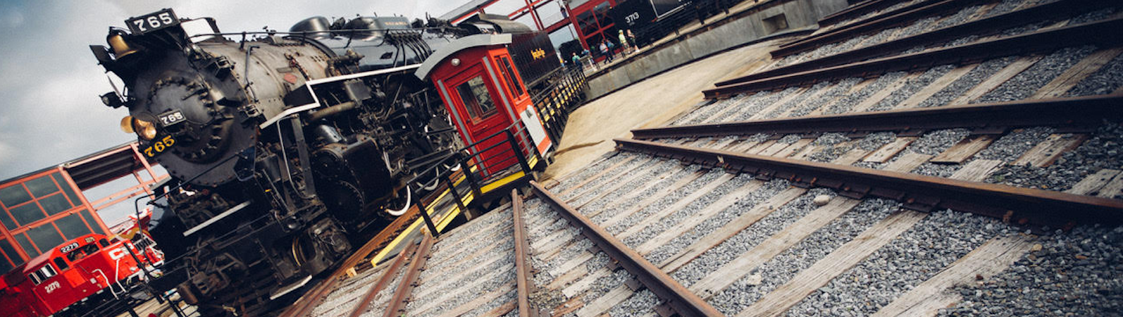 The historic Nickel Plate No. 765 is coming back to downtown Fort Wayne as part of a multi-purpose railyard park project called Headwaters Junction. <span class='image-credits'>By Kelly Lynch</span>