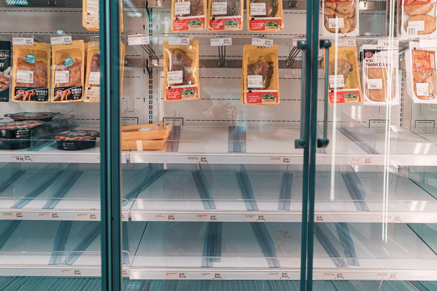 Empty shelves at grocery stores have prompted many in Indiana to start rethinking the state's food supply chain.