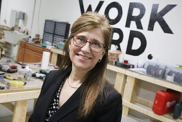 Monica Miller of Decatur is the entrepreneur behind the Glasses Gripper.
