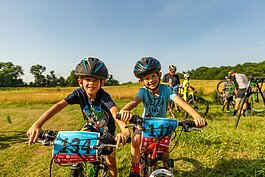 Organizations like Team NeighborLink are helping young riders learn the basics of mountain biking.
