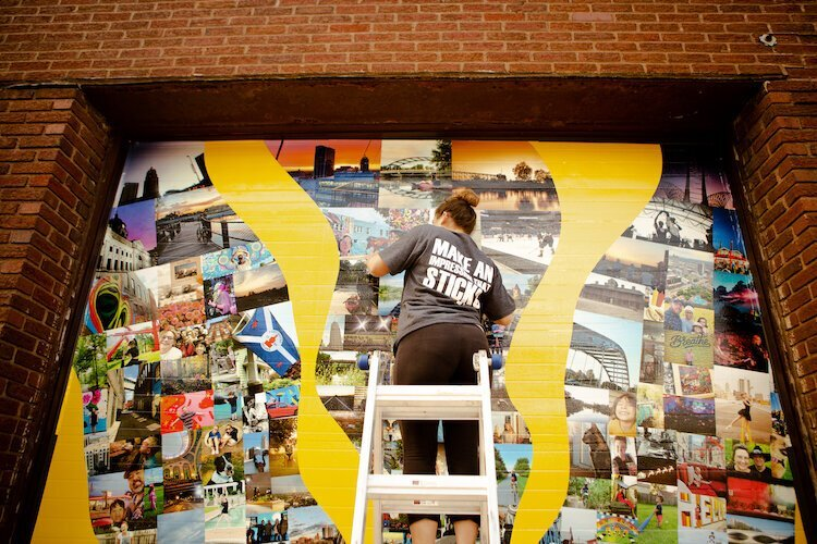 A new mural in Fort Wayne is fostering a sense of pride while creating a sense of place.