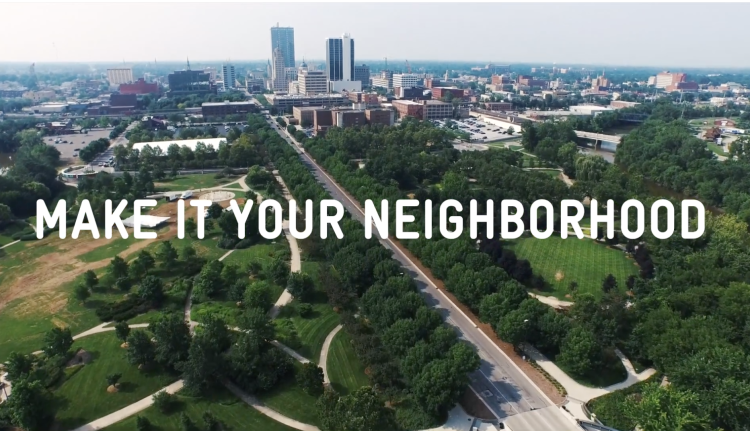 "Northeast Indiana has a new regional brand: ""Make It Your Own."""