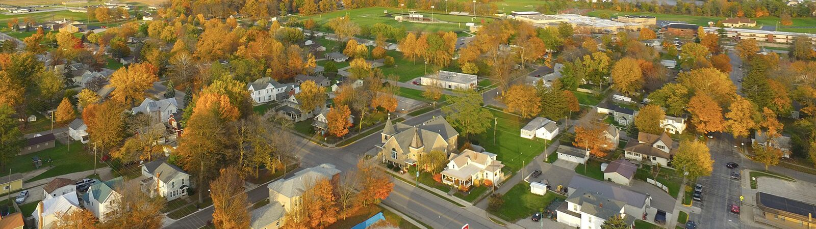 It's starting to look like fall in northeast Indiana. <span class='image-credits'>By Stephen J. Bailey</span>