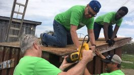 NeighborLink assigns volunteers to local service projects.