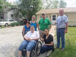 Fort Wayne is improving streets to accommodate people of all abilities.