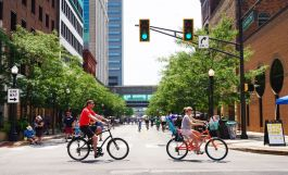 Fort Wayne's active transportation network has 10 miles of bike lanes.