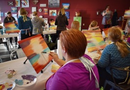"The Art Loft hopes to expand on its current ""paint and sip"" class offerings."