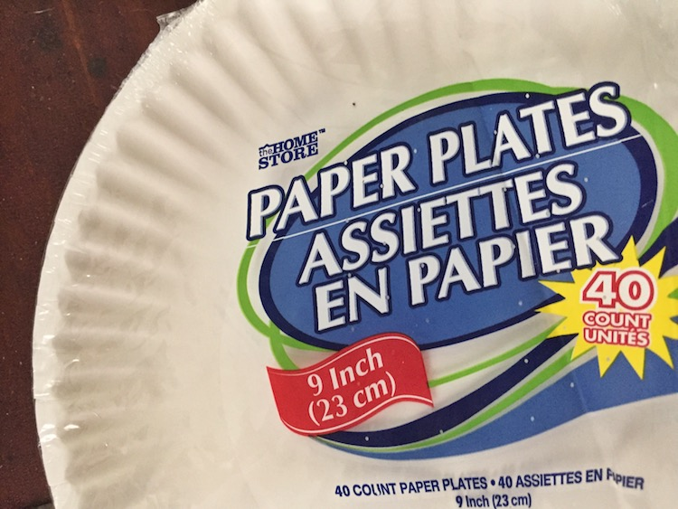 Not all paper plates are created equal.