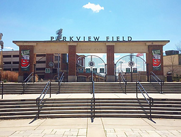 Parkview Field is home of the Tincaps located at 1301 Ewing St. in Fort Wayne.