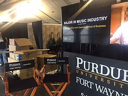 Purdue Fort Wayne's Popular Music and Music Industry Programs are the two newest majors in the School of Music.