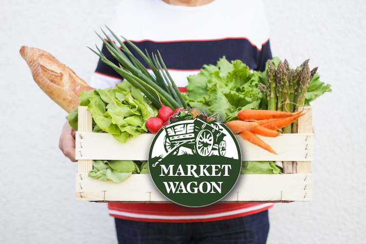 Market wagon is an online farmers market that delivers farmers' products to consumers.