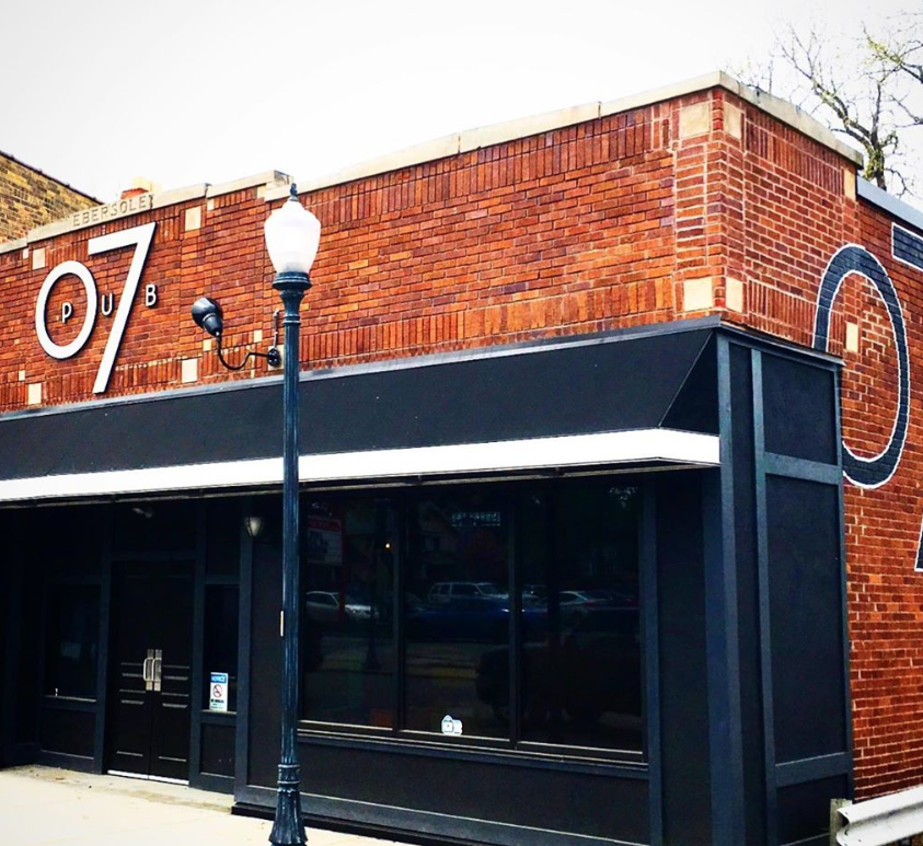 The 07 Pub is located at 3516 Broadway in the 46807 zip code of Fort Wayne.