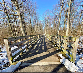 Nearly 7 miles of the Pufferbelly Trail have been constructed: 4.75 miles from Washington Center North to Life Bridge Church, and another 2.25 miles is from Lawton Park and Fourth Street to Lima Road and Ice Way.